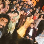 This is the best @Siima Selfie with Megastar Chiru Sir and all these wonderful people. https://t.co/kqZVMJ0F9P