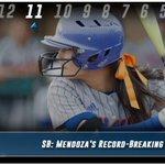BestOf15-16: Mendoza sets Mavs single-season hits (76) and batting average (.461) record https://t.co/S0hb2o3QQJ https://t.co/iTWv6ZEbXD