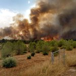 Incendio aproximándose al Pantano del Talave #Hellin @miratproductora https://t.co/8HjqXIz0Yw @MeteoHellin #IFHellin.