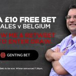 Fancy a free bet in time for #WAL #BEL? Follow me & RT this to enter draw to win £10 at Genting Bet. Draw at 7.30 https://t.co/Blq1l5CBN5