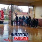Jardín infantil visitando cuartel de la Quinta Compañía de Bomberos Temuco, saludando en el día Nacional del Bombero https://t.co/xYam5rhNhO