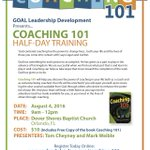How to become a great coach. Attend Coaching 101 Aug 4 in #Orlando https://t.co/FAIQJw3MD2 https://t.co/olYjz18stx