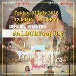 This July we will look back at the past, celebrate the present and head to another journey. ❤️  🐼 OHT #ALDUBYouJULY https://t.co/09pQajYlve
