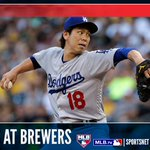 Kenta Maeda takes the bump today in Milwaukee as the #Dodgers face the Brewers at 11:10 PT: https://t.co/jdbraMYbta https://t.co/zLkiHWSVNS