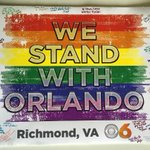 Thank you so much to @CBS6 for this beautiful card! #OrlandoUnited https://t.co/ExoE8wj4t2