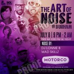 On Friday, July 8th, @theaocproject presents: The Art of Noise #Durham at Motorco... https://t.co/R7zcZPlFbd