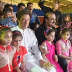 Imran khan supporting and sitting amongst the most vulnerable, the orphans of Pakistan Sweet Homes, Islamabad. https://t.co/YlrS6LgV5J
