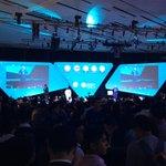 En el escenario principal de @Campuspartymx se lleva a cabo la inauguración #CPMX7 https://t.co/lPMUAvTnwK