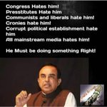 Presstitude do not mess with Dr @Swamy39 #SwamyVsPresstitutes https://t.co/N6VIYA05W4