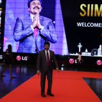 The Iconic Mega Star #Chiranjeevi on the red carpet of #SIIMA2016 #Singapore https://t.co/jmcgtKVq2a