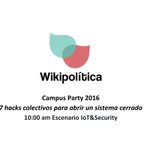 ¿Cómo hackear un sistema de partidos? Mañana a las 10 am en #CPMX7 ???? https://t.co/zB0Du2BSjH