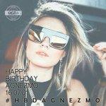 HAPPY BIRTHDAY @agnezmo !!!! ❤️❤️❤️ #HBDAGNEZMO https://t.co/RNhAdQgizg