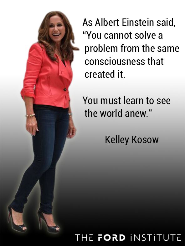 "As Albert Einstein said, ""You cannot solve a problem from the same...""  Kelley Kosow #TheFordInstitute https://t.co/lO9pw77et1"