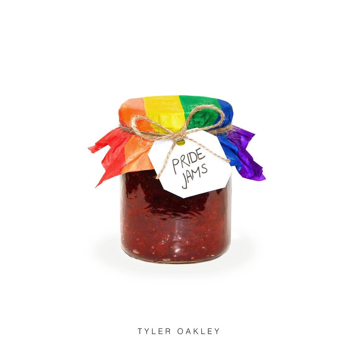 """#PROUD 2 be on @tyleroakley's #PrideJams! Somanyhotjams!Our """"Make Our Own Way"""" kicks it off! https://t.co/PQT5eihHyw https://t.co/puM6UfoMOm"""