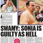 "Its respected @Swamy39 Sir who has guts to call ""Spade-a-Spade"". #SwamyVsPresstitutes #IAmWithSwamy https://t.co/3StGcQAIAP"