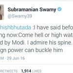 #SwamyVsPresstitutes does any1 need any explanation or clarification aftr this,PM n swamy cannot be separated https://t.co/OQEAR4ddB1