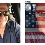 Show your #FourthofJuly spirit by overlaying a USA Flag on your profile photo. Free tool at https://t.co/TP7j14I61J https://t.co/7Ueg6W2yXC