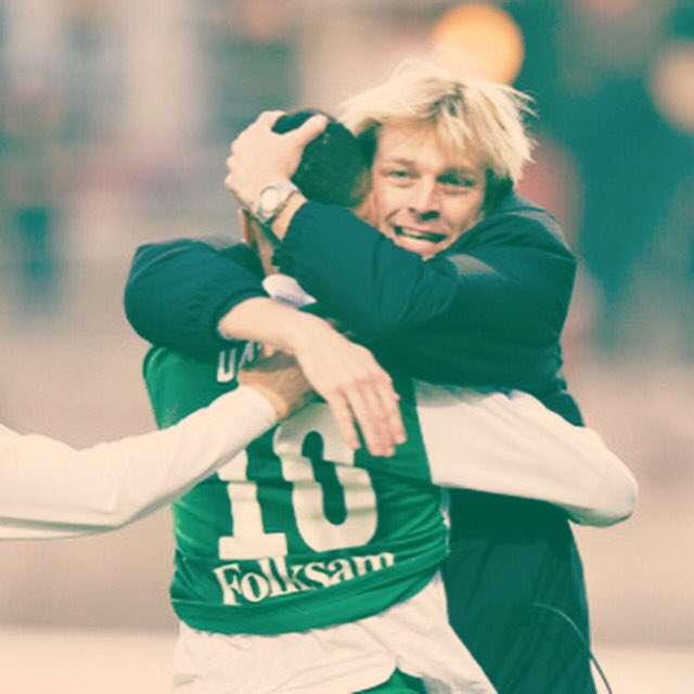 My first professional league goal in Sweden! Coach Tony Gustavsson was almost happier than I was #Hammarby #Sweden