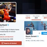 Looks like Al Horford is following someone new…???? https://t.co/KtvGgoGXcT