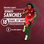 Renato Sanches had himself a day in his first #POR start. ???? #Euro2016 https://t.co/lFu0jfQUam