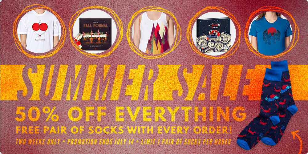 RT @hitRECord: This is not a drill... 50% off everything in our RECord Store! Let the shopping commence — https://t.co/dvdDznGH9X https://t…