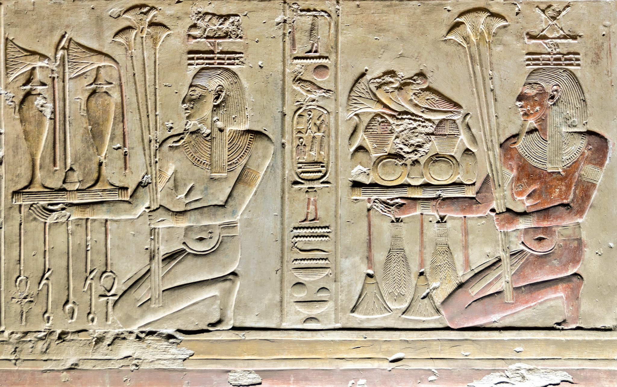 From The Temple Of #Seti I. #Abydos, #Egypt | #AncientEgypt #Egyptology #Archaeology https://t.co/g75AlXDcfq