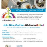 Dine Out for Orlando UnitedTONIGHT! https://t.co/sZ3LPnQPLH https://t.co/y0nRcLkerA
