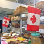 Staff Appreciation #CanadaDay Breakfast at our new location! How are you celebrating #CanadaDay? #PeakeofCatering https://t.co/FcV365MaGX