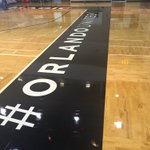 #OrlandoUnited added to the @AmwayCenter @OrlandoMagic practice court for the Southwest Orlando Pro Summer League https://t.co/EzX32cCUV8
