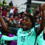 GOOAALL!!! Renato Sanches levels the scores for #POR! #POLPOR #EURO2016 https://t.co/v9CKRvIih7