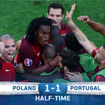 An engrossing 45 minutes come to an end. #EURO2016 #POLPOR https://t.co/EKgeOjYDQc
