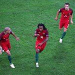 The youngest scorer in a @UEFAEURO knockout game - hes not bad this Renato #Sanches guy! #POLPOR #EURO2016 https://t.co/F04u4FGpbR