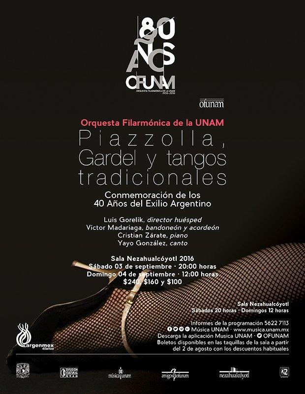 En septiembre, la @OFUNAM presenta un programa en Conmemoración de los 40 Años del Exilio Argentino https://t.co/6iFFj32UlN