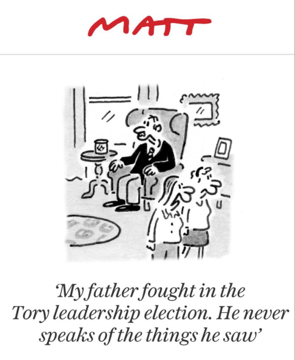 Matt cartoon in tomorrow's Telegraph.....brilliant! https://t.co/O5Fg5Bf1Uy