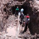"""Excavación en línea de 12 """" de diámetro, para instalación de sifón hidráulico en Lib. Norte Ote., Fracc. Las Torres. https://t.co/EmHyqaJyzB"""