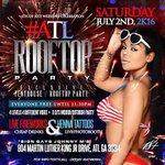 Rooftop party gone fuck the city up Saturday ????#Atlrooftopparty with #Goddessesofatl ???? https://t.co/3qVfi1UBIK 3