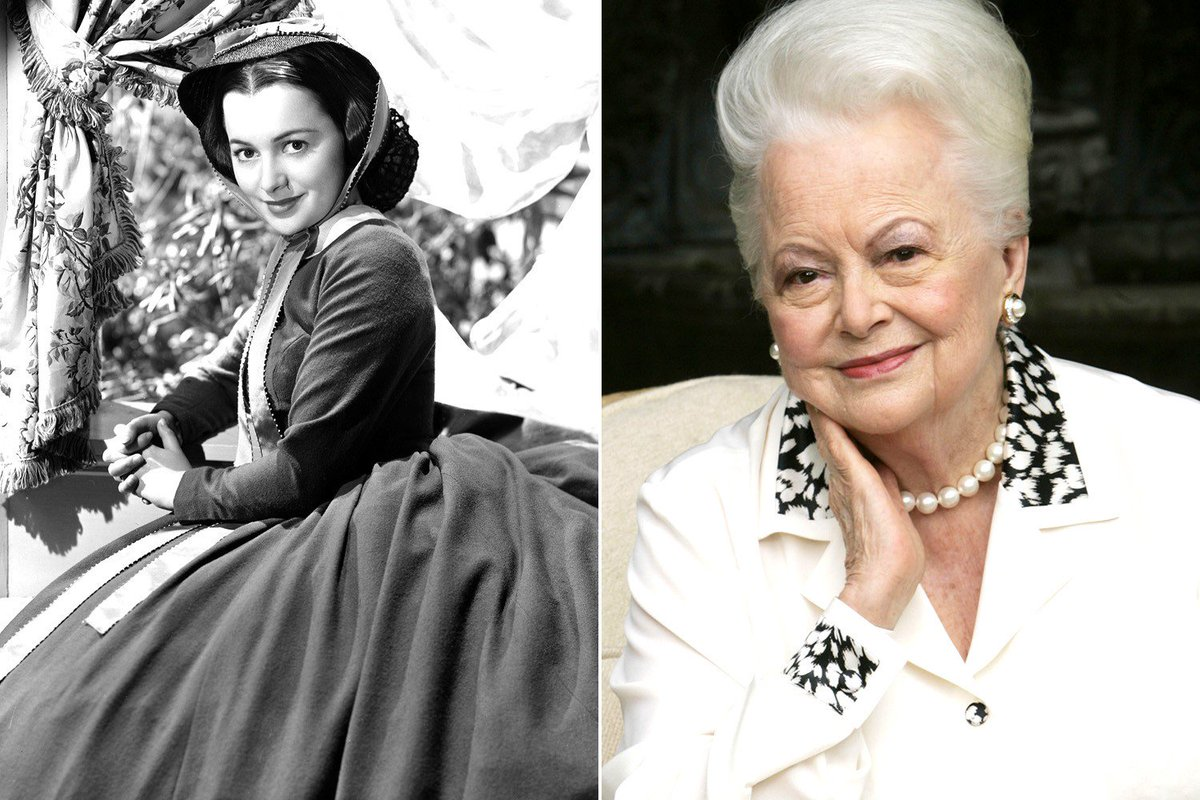 Olivia de Havilland isn't going to stay 99 for long. 1 more day until her centennial. We start celebrating tonite! https://t.co/s0GA2RZ2vd