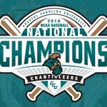 Worth the wait! The Coastal Carolina University Chanticleers are the 2016 NCAA Baseball Champions! https://t.co/oiACsvyFYW