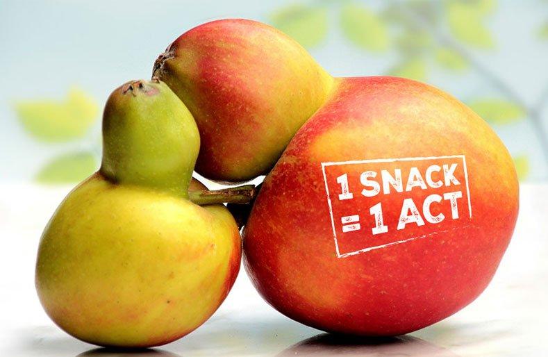 Fighting #foodwaste and saving fruit with Snactivism! https://t.co/VeiZ1d5SdN via @foodrev #foodrevolution https://t.co/iiNHNuL2Bn