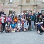 Mañana ya llegamos a Santiago después de todo el esfuerzo #CaminoLaSalleSDR16 https://t.co/ozR3PrmOQV