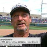 """""""I lost [my dad] 10 years ago & I wanted so bad for him to be here, but I know hes watching."""" -CCU HC Gary Gilmore https://t.co/irOSC26XuL"""