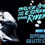 Bruce @Springsteen returns to Gillette Stadium 9/14: RT/follow to enter to win your way in!  https://t.co/y5Ve5vxDle https://t.co/VI77JBURLO