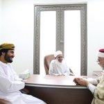 صور من اللقاء الذي جمع الشيخ أحمد الخليلي مفتي عام السلطنة والمفكر عبدالفتاح مورو، وحذيفة الغزالي مع فريق #تآلف https://t.co/6UQPsrQmTV