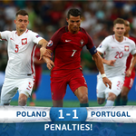 Thats it. Get ready for penalties! #EURO2016 #POLPOR https://t.co/l3sPtmz633