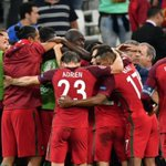Portugal the first team to quality for the semi-finals. Congratualtions https://t.co/Sx5Ae2a1Wt