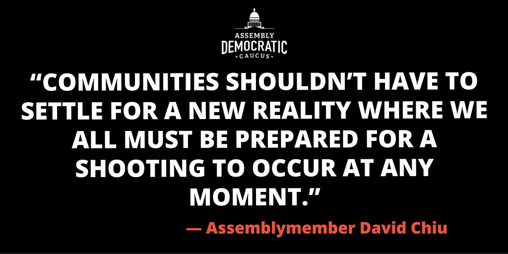 We did it! @AssemblyDems passed  Nation's Strongest Gun-Violence Prevention Measure. #SaferCA  #EndGunViolence https://t.co/kGkjaR68Is
