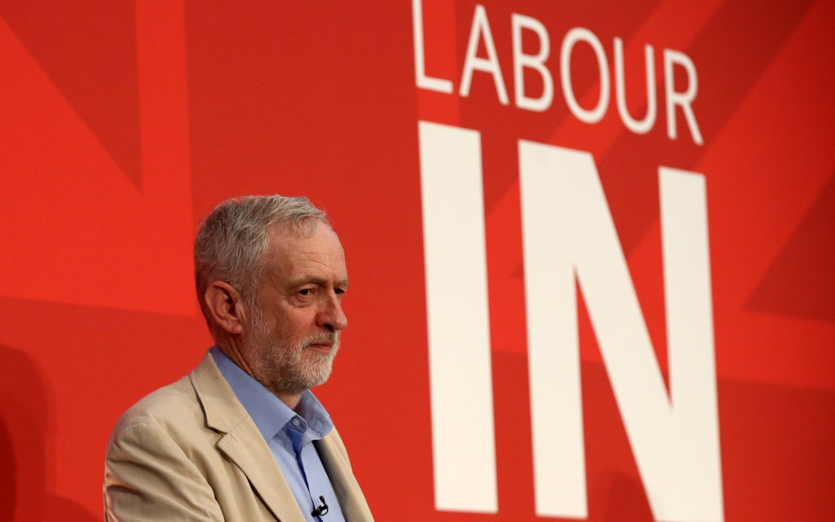 Don't blame Corbyn - polls show only Tory voters could have kept us in EU - by John Curtice https://t.co/eSSNkfVOjG https://t.co/sKCBfFESN8