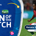 .@selecaoportugal midfielder Renato Sanches is your @carlsberg Man of the Match! https://t.co/8up1YLq1Ll #POLPOR https://t.co/6Bxt05LVPa