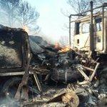 Más imágenes de ese incidente durante el #IFHellin. Afortunadamente no ha habido que lamentar daños humanos. https://t.co/vNwHgkIF2X