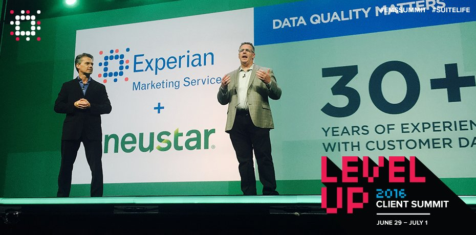 Officially announced our partnership with  @Neustar today at #EMMSSUMMIT! https://t.co/Z2liEkvKwo @jstocki #Digital https://t.co/doT3QQWmuT